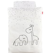 Done By Deer Duvet Cover - Baby - Dreamy Dots - White