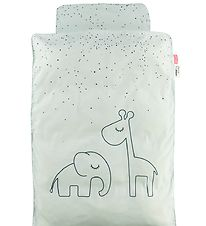 Done By Deer Duvet Cover - Junior - Dreamy Dots - Blue