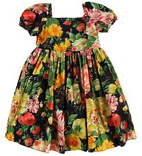 Dolce & Gabbana Dress - Black w. Flowers