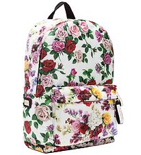 Dolce & Gabbana Backpack - White w. Flowers