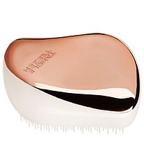 Tangle Teezer Hairbrush - Compact Styler - Rose Gold Ivory