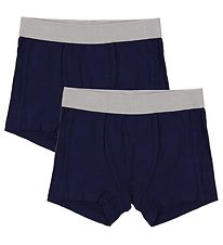 Minymo Boxers - 2-Pack - Bamboo - Navy
