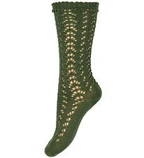 Condor Knee High Socks - Knitted - Army Green