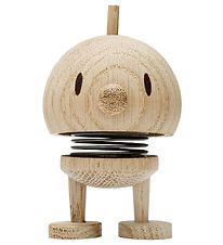 Hoptimist Baby Woody Bumble - 7 cm - Raw Oak