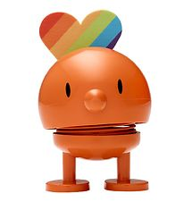 Hoptimist Baby Bumble - Rainbow - 7 cm - Orange