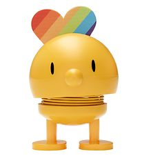 Hoptimist Baby Bumble - Rainbow - 7 cm - Yellow