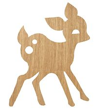 ferm Living Lamp - Deer - 29x38 - Oiled Oak
