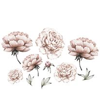 Thats Mine Wallstickers - Peony Flowers - Rose