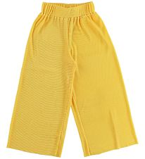 Hound Trousers - Pleated - Yellow