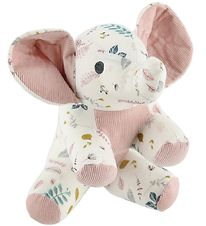Cam Cam Soft Toy - Elephant - Pressed Leaves Rose