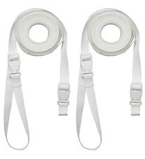 Leander Straps - Side-By-Side - White
