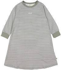 Müsli Nightdress - Grey Striped