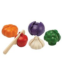 PlanToys Vegetables - Multicolour