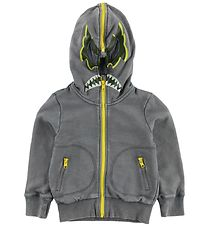 Stella McCartney Kids Zip Thru Hoodie - Grey w. Mask