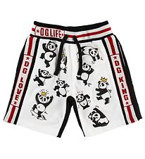 Dolce & Gabbana Shorts - Sweat - Black/White w. Pandas