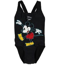 Speedo Swimsuit - Mickey Mouse - Black