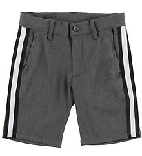 Grunt Shorts - Dude - Grey Melange