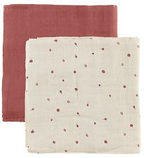 Fabelab Swaddle - 2-Pack - 120x120 - Wild Berry