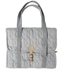 Sebra Changing Bag - Quilted - Grey