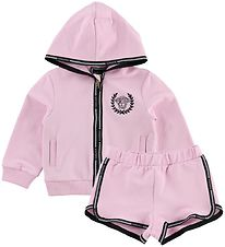 Young Versace Tracksuit - Pink w. Logo