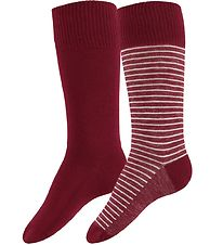 Levis Socks - 2-Pack - Regular Cut - Red/Red Striped