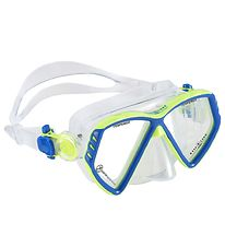 Aqua Lung Diving Mask - Cub Jr - Light Green/Blue