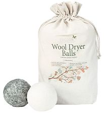 Cocoon Company Dryer Balls - Wool - 6-Pack - Grey/White
