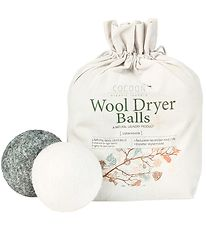 Cocoon Company Dryer Balls - Wool - 4-Pack - Grey/White