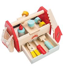 Le Toy Van Toolbox - Wood/Red