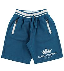 Dolce & Gabbana Shorts - Sweat - Petrol