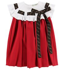 Fendi Kids Dress - Red