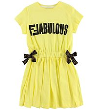 Fendi Kids Dress - Yellow