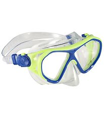 Aqua Lung Diving Mask - Urchin Jr - Lime/Blue