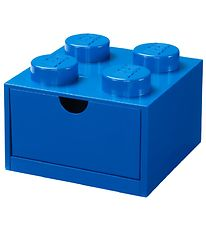 Lego Storage Storage Drawer - 4 Knobs - 15x15x9 - Blue