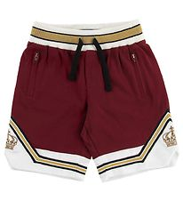 Dolce & Gabbana Shorts - Bordeaux w. White/Gold