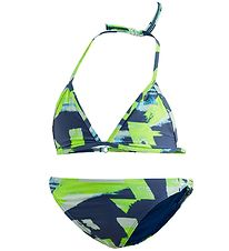 adidas Performance Bikini - Navy/Neon Green