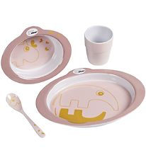 Done By Deer Dinner Set - Contour - Powder