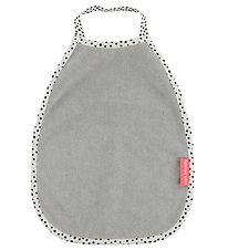 Done By Deer Bib - Happy Dots - Grey