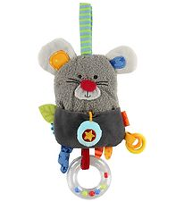 Haba Clip Toy - Mouse - Grey