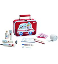 Haba Toy Box - Doctor's Valise - Red