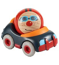 Haba Car w. Race Driver - Black/Red