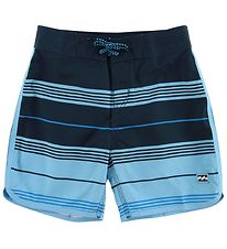 Billabong Swim Trunks - 73 Stripe - Navy/Blue