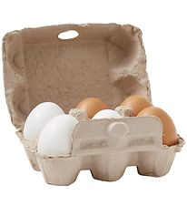 Kids Concept Play Food - Bistro - Eggs w. Tray