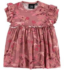 Petit by Sofie Schnoor Dress - Kari - Dark Rose/Flowers