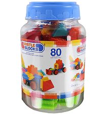 Bristle Blocks Bucket - 80 pcs - Big Value