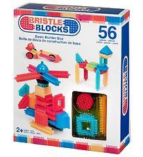 Bristle Blocks Box - 56 pcs - Basic Builder