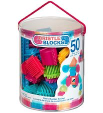 Bristle Blocks Box - 50 pcs - Basic Builder