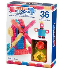 Bristle Blocks Box - 36 pcs - Basic Builder