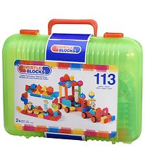 Bristle Blocks Case - 113 pcs - Safari Adventure
