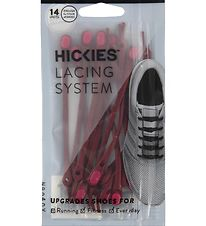 Hickies Laces - Elastic Hair Bands - Burgundy